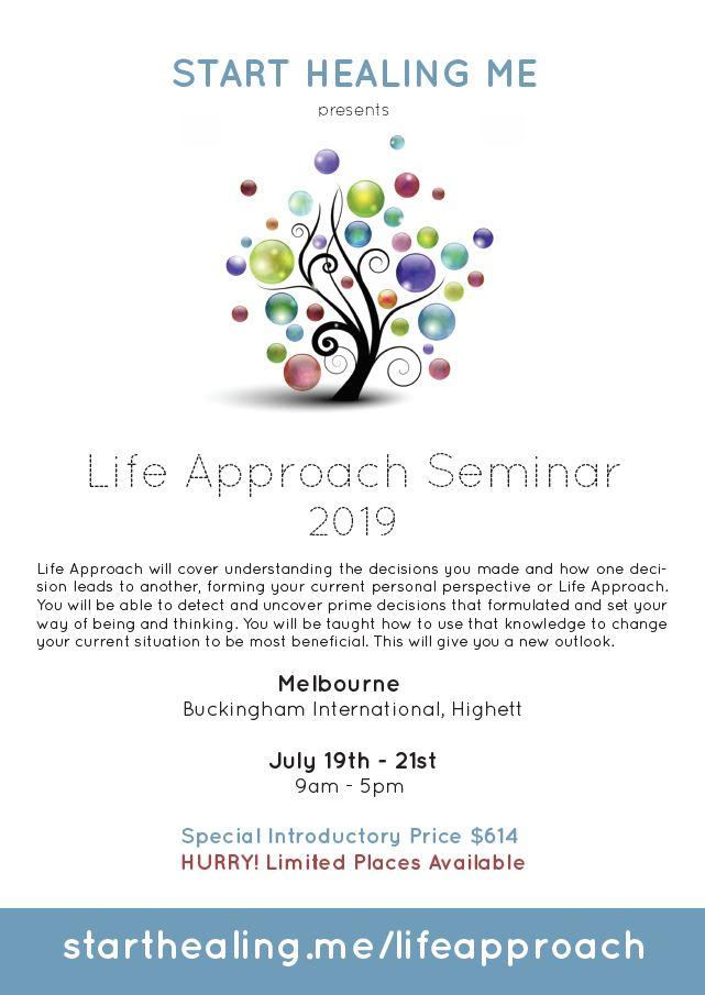 Life Approach Seminar 2019